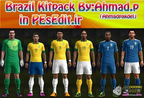 bagas31 jersey pes 2013 brazil 13 14 big kitpack by ahmad p pro evolution soccer