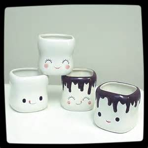 Cute Coffee Cups Marshmallow Smiling Faces Cute Coffee Mugs Best Coffee Mugs