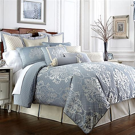bed bath and beyond waterford waterford 174 linens newbridge reversible comforter set bed