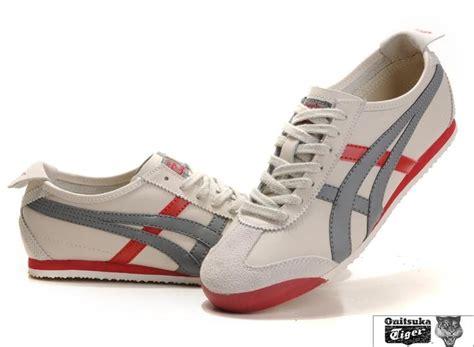 mens onitsuka tiger mexico 66 shoes beige grey asics