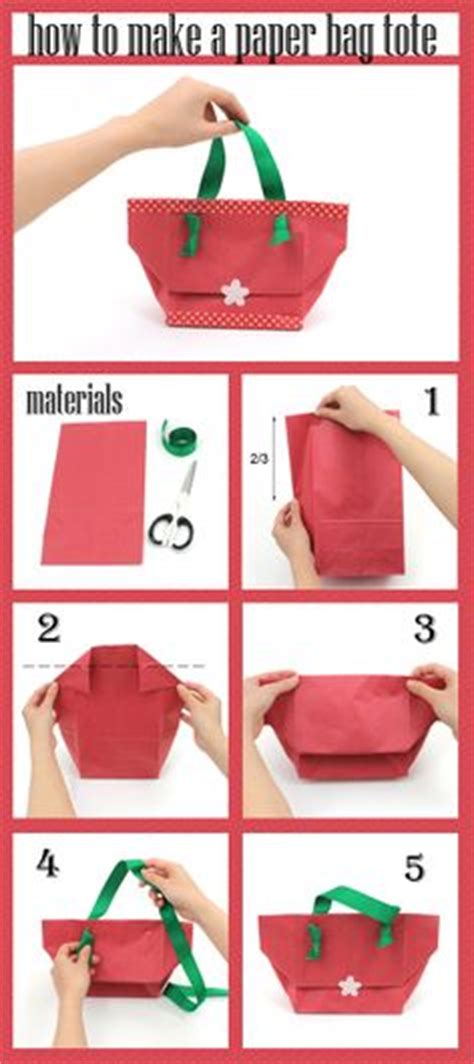 Steps To Make Paper Bag - 1000 images about diy craft ideas on pens
