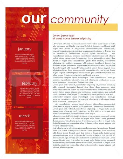 community newsletter template newsletter template template newsletter templates