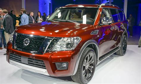 nissan armada 2016 2016 chicago auto show 2017 nissan armada first look