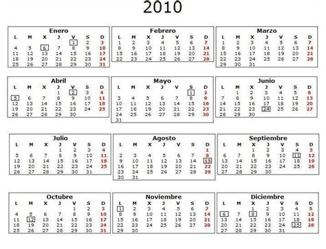 Calendario Bisiesto Calendario De 1982 Es Identico Al De 2010 Taringa