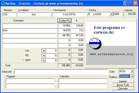 calculo recibo arrendamiento 2016 calculo para recibo de arrendamiento 2016 new style for
