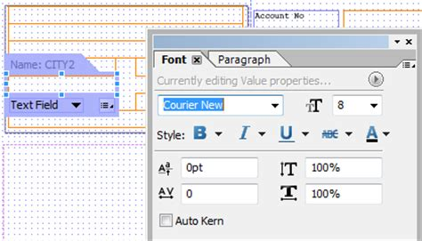 sap ui layout form gridlayout set font and paragraph properties in adobe form builder