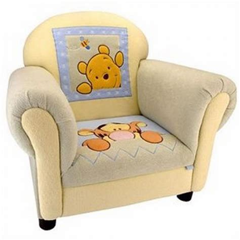 upholstered chair for winnie the pooh tigger fans and