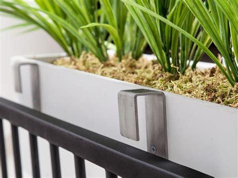 stainless steel window box brackets  balcony planters