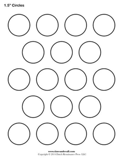 8 best images of 1 5 inch circle template printable 1