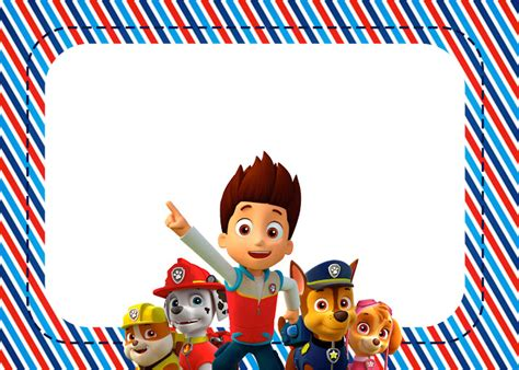 printable birthday card paw patrol paw patrol free printable invitations oh my fiesta in