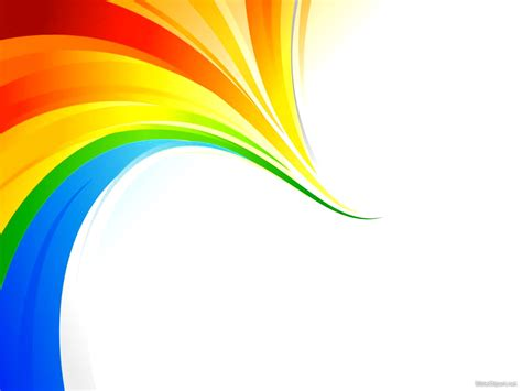 powerpoint rainbow template powerpoint templates rainbow images powerpoint template