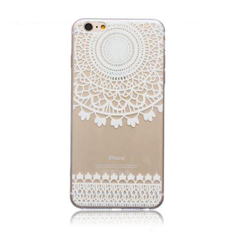White Pattern Case   mandala floral paisley pineapple white henna flower