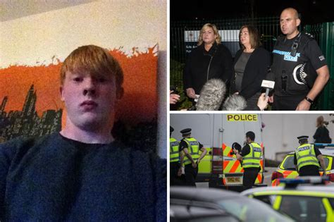 bailey gwynne 16 year old scottish schoolboy stabbed to death at lunchtime daily star
