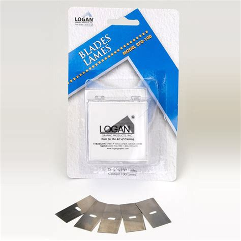 Mat Cutters Professional by Logan Replacement Blade 270 Pack Of 100 Blades For Mat