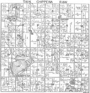 Michigan Plat Maps by Lake County Michigan Plat Map