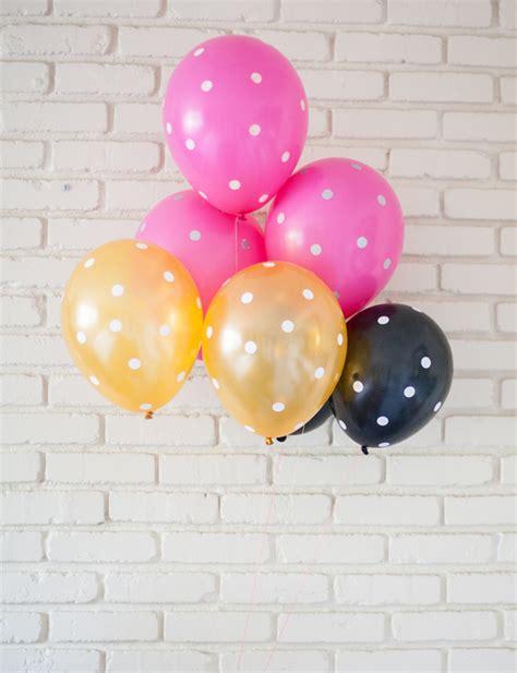 Balon Polkadot Balon Dot polka dot balloons a subtle revelry