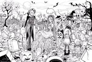 free printable halloween coloring pages adults coloring pages kids