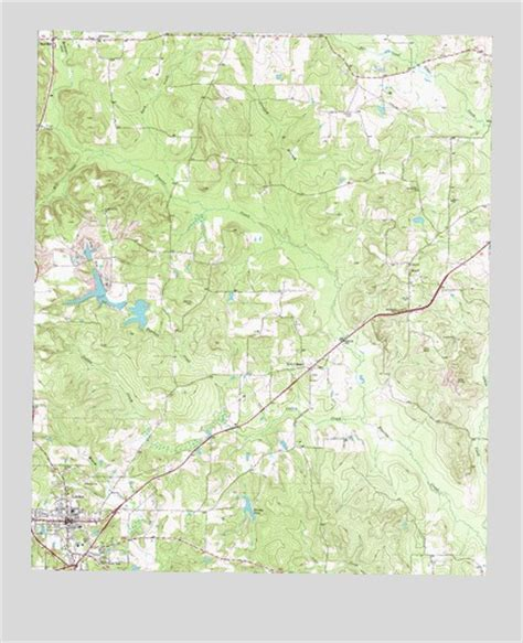 linden texas map linden tx topographic map topoquest