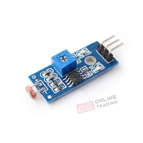 light sensor circuit ldr photo resistor ldr light sensor module light dependent