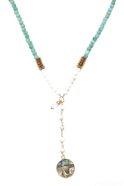 alyse wexler amazonite necklace from new jersey by the