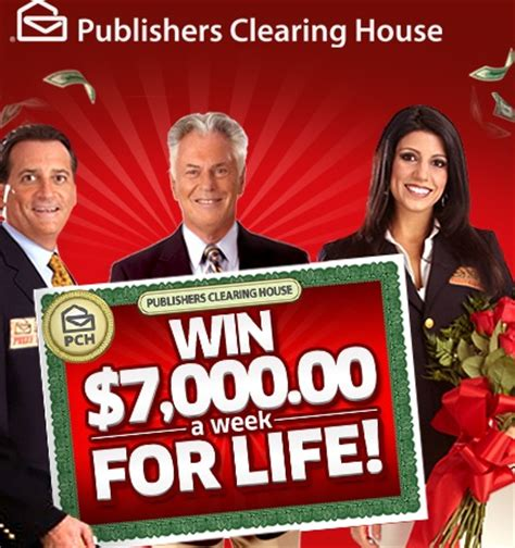 How To Sweepstakes For A Living - pch 7k a week for life sweepstakes sweeps maniac