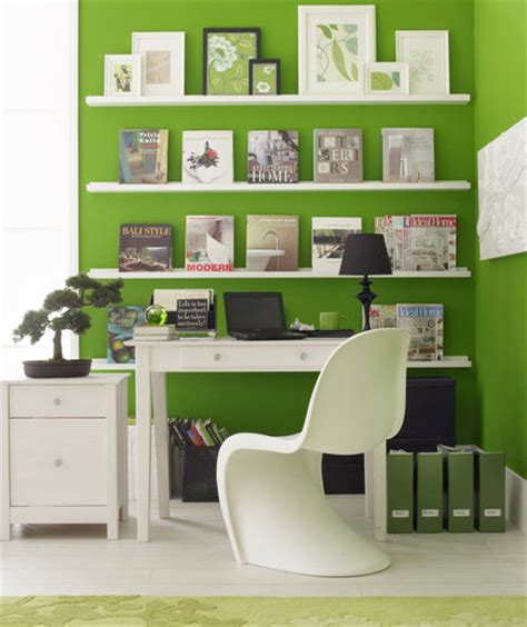 Shelves For Office Ideas The Great Wall 17 Surprising Home Office Ideas Real Simple