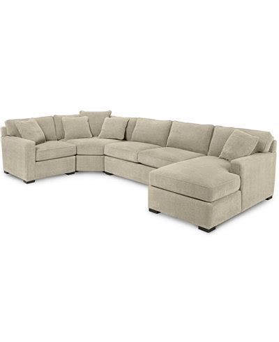 radley sectional reviews radley 4 piece fabric chaise sectional sofa furniture
