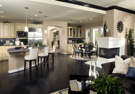 open concept kitchen dining room floor plans 124 custom luxury kitchen designs part 1