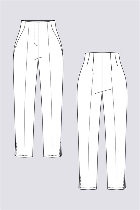tyyni cigarette trousers named clothing sewing patterns