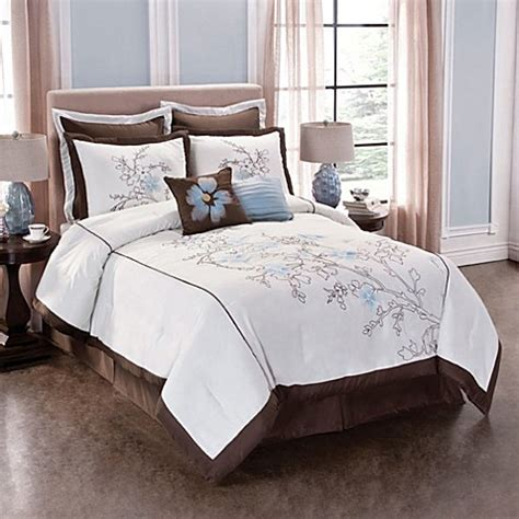 bed bath and beyond tribeca tribeca floral comforter set bed bath beyond