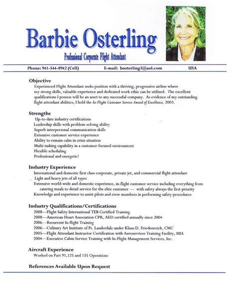 Corporate Flight Attendant Barbie Osterling