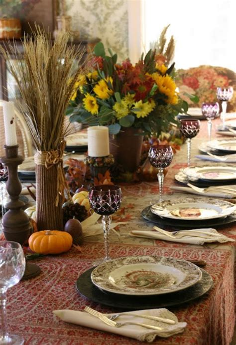 gorgeous  awesome thanksgiving table decorations