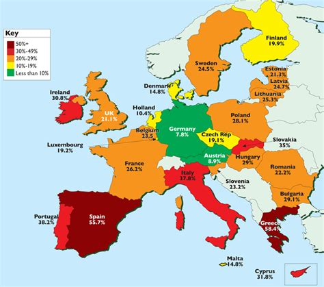 europa european survival strategy in a darkening world books moneyweek map europe s wasted youth moneyweek