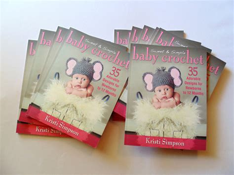 the baby interviews books quot sweet simple baby crochet quot an with the author
