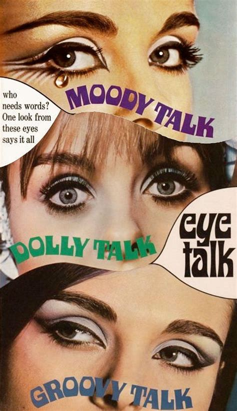 One Look Says It All by Max Factor Eye Make Up Ad C 1960s Quot Who Needs One
