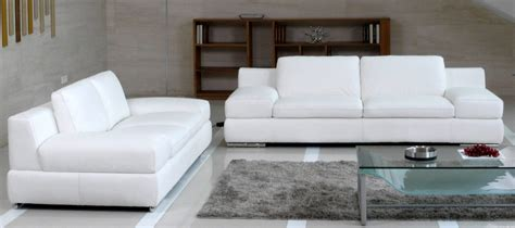 sofa cuero blanco sof 225 s modernos de cuero blanco im 225 genes y fotos