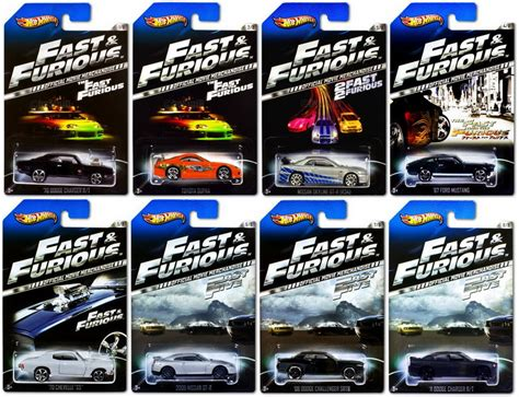 Hotwheels Th Reguler Fast Fellon complete 1 64 the fast and the furious collection by