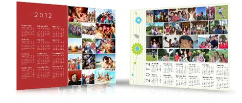 design custom calendar make a custom calendar from your photos on facebook