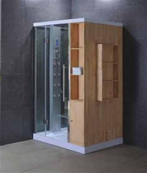 Prefabricated Corner Shower 32 Quot Corner Shower Enclosure Kit W White Frame Clear Glass