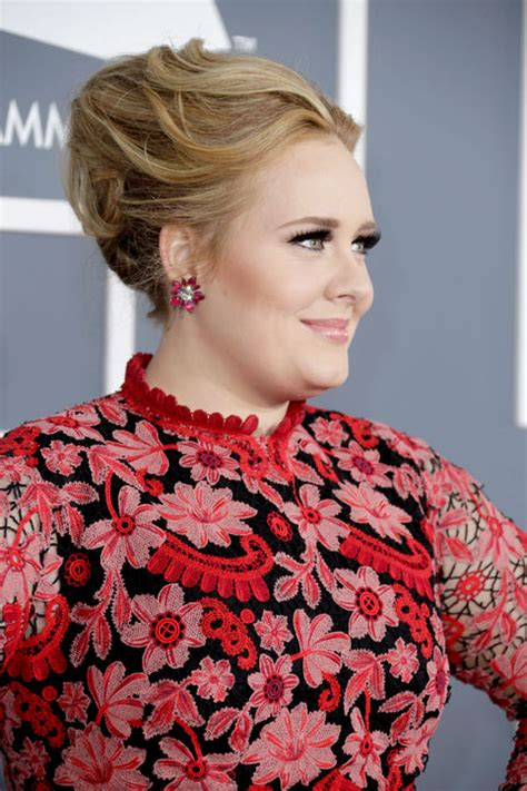 adele grammy photos 2013 get the look adele s grammy makeup and hair martinis