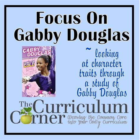 biography book on gabby douglas focus on gabrielle gabby douglas the curriculum corner 123