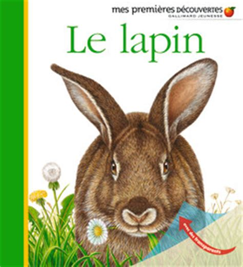 lapin le le lapin rabbits mes premi 232 res d 233 couvertes in language edition