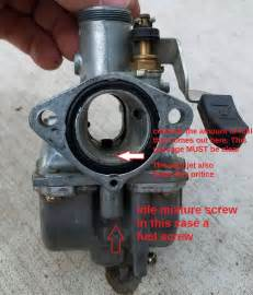 how to idle mixture adjustment motorcycle how to