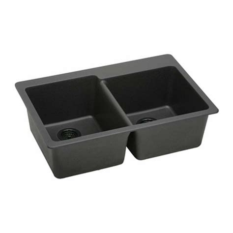 elkay granite undermount kitchen sinks elkay gourmet bowl drop in undermount black e