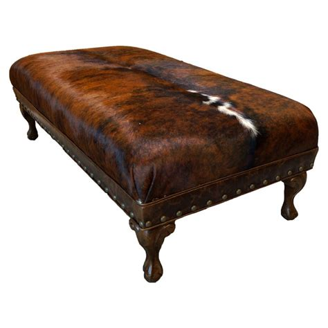 cow hide ottomans 17 best ideas about cowhide ottoman on cowhide