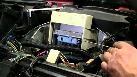 c4 corvette cutaway ecm module