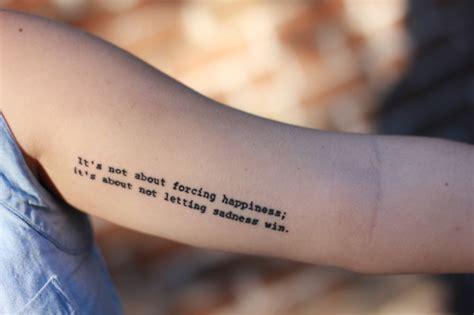 tattoo quotes for depression depression tattoo quotes tumblr image quotes at relatably com