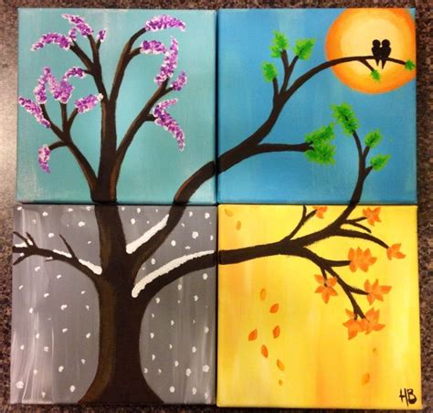 Painting 4 Seasons by 1000 Ideas About Four Seasons On Four Seasons