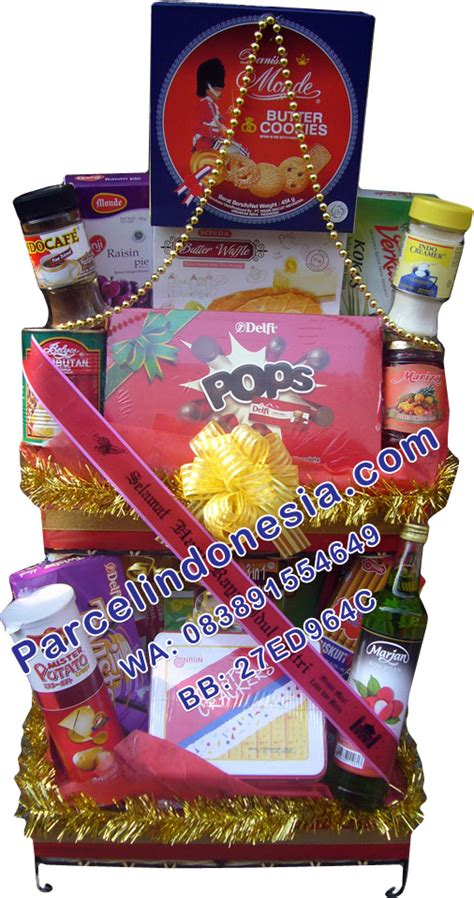 Jual Keranjang Parcel Bekasi jual parcel lebaran makanan di ciketing bekasi 08127221554