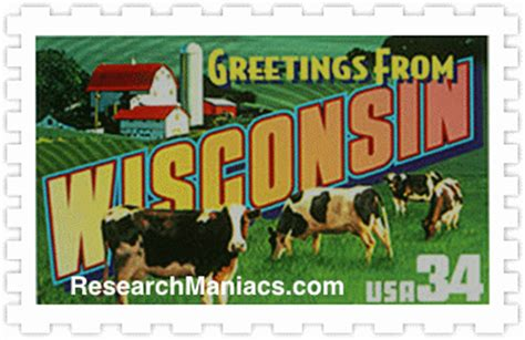 Wisconsin The 30th State by When Is Wisconsin S Birthday